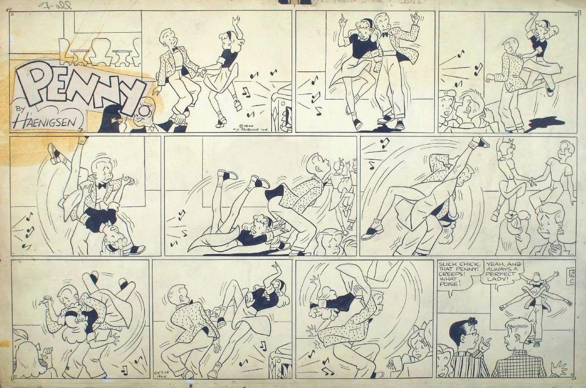 """Penny"" comic strip, October 15, 1944"