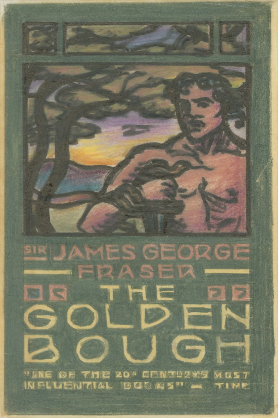 """Study for """"The Golden Bough"""""""