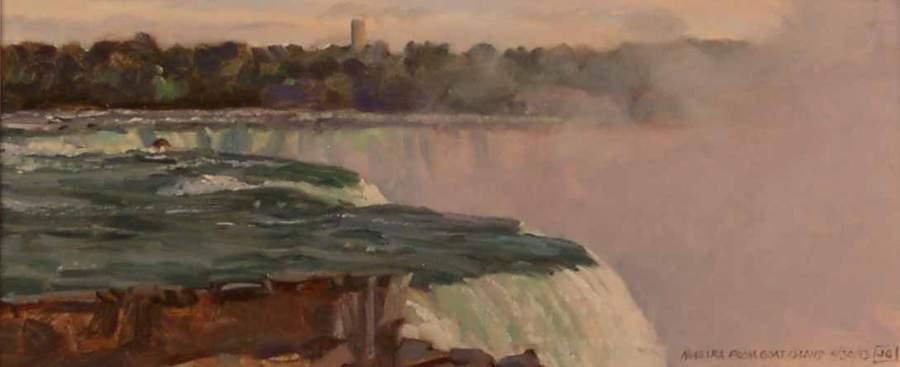Niagra Falls from Goat Island