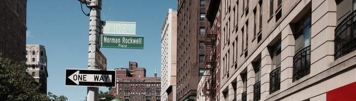 Manhattan Street Is Renamed After Norman Rockwell