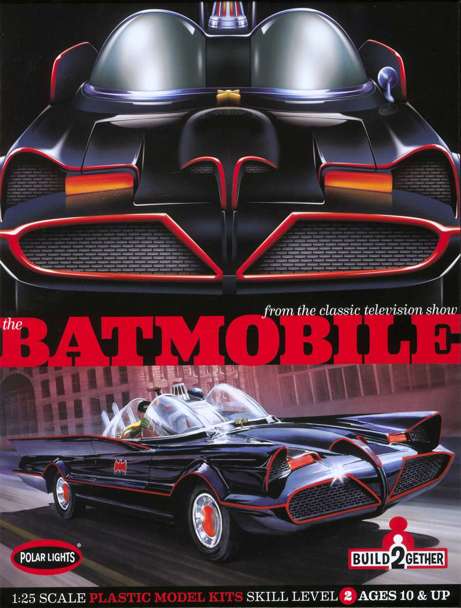 Batmobile model package