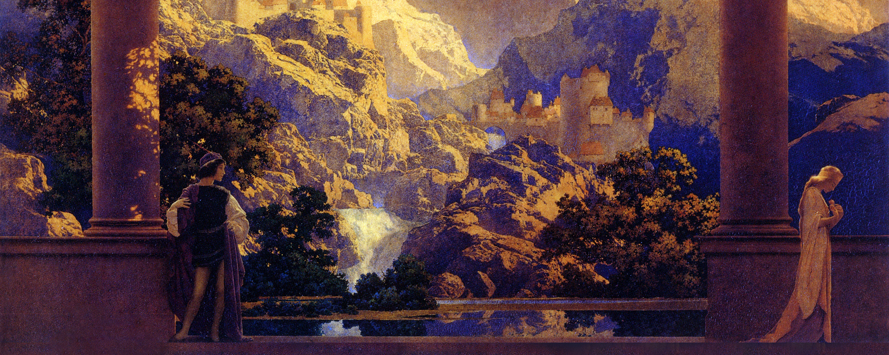 Maxfield Parrish - Romance