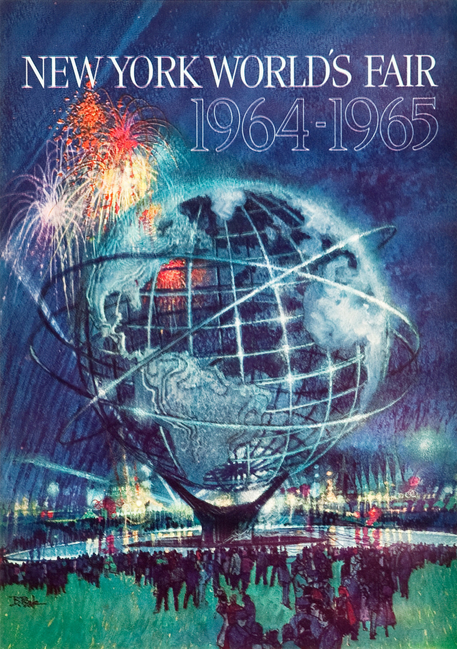 New York World's Fair 1964-1965 poster