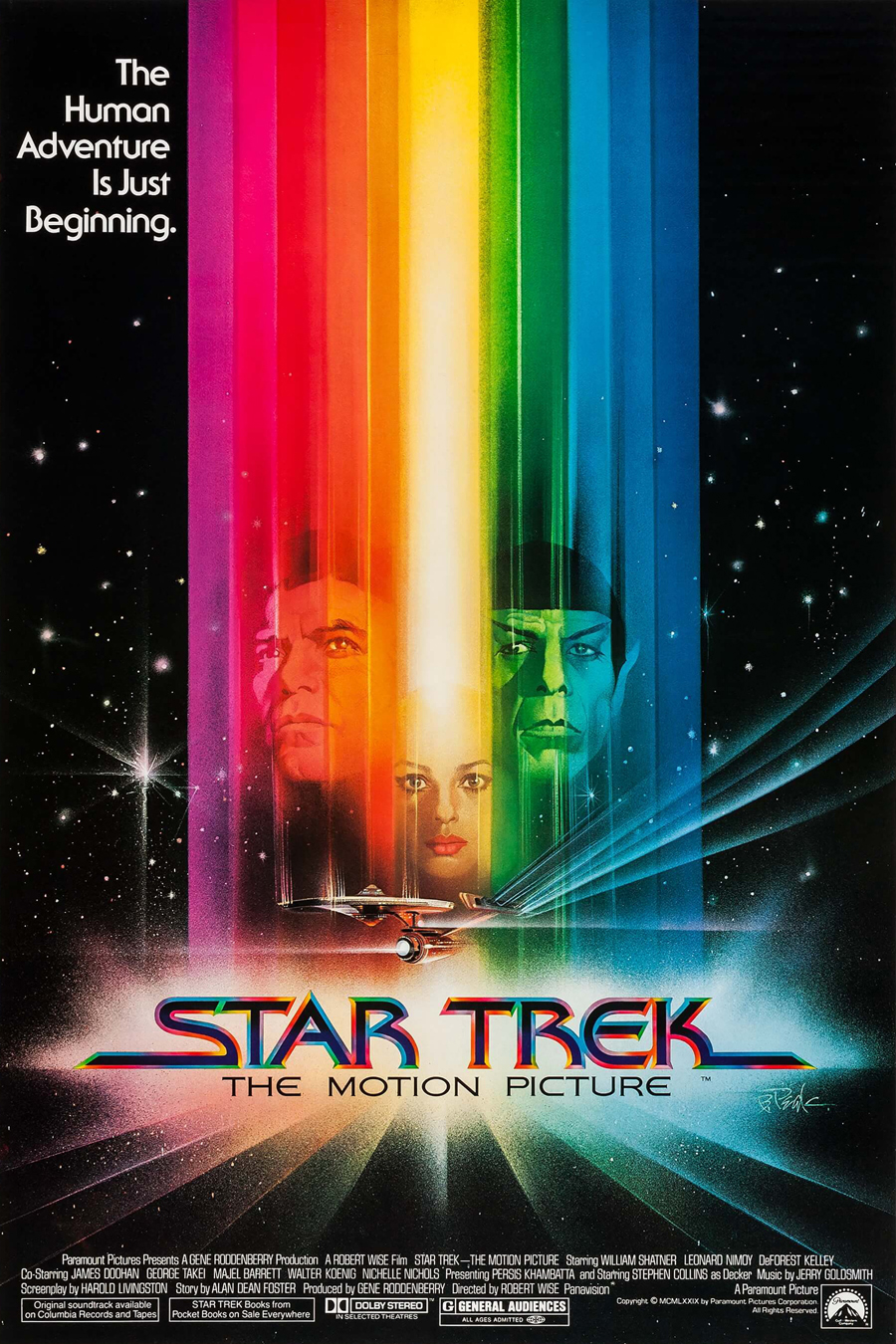 """Star Trek: The Motion Picture"" poster"