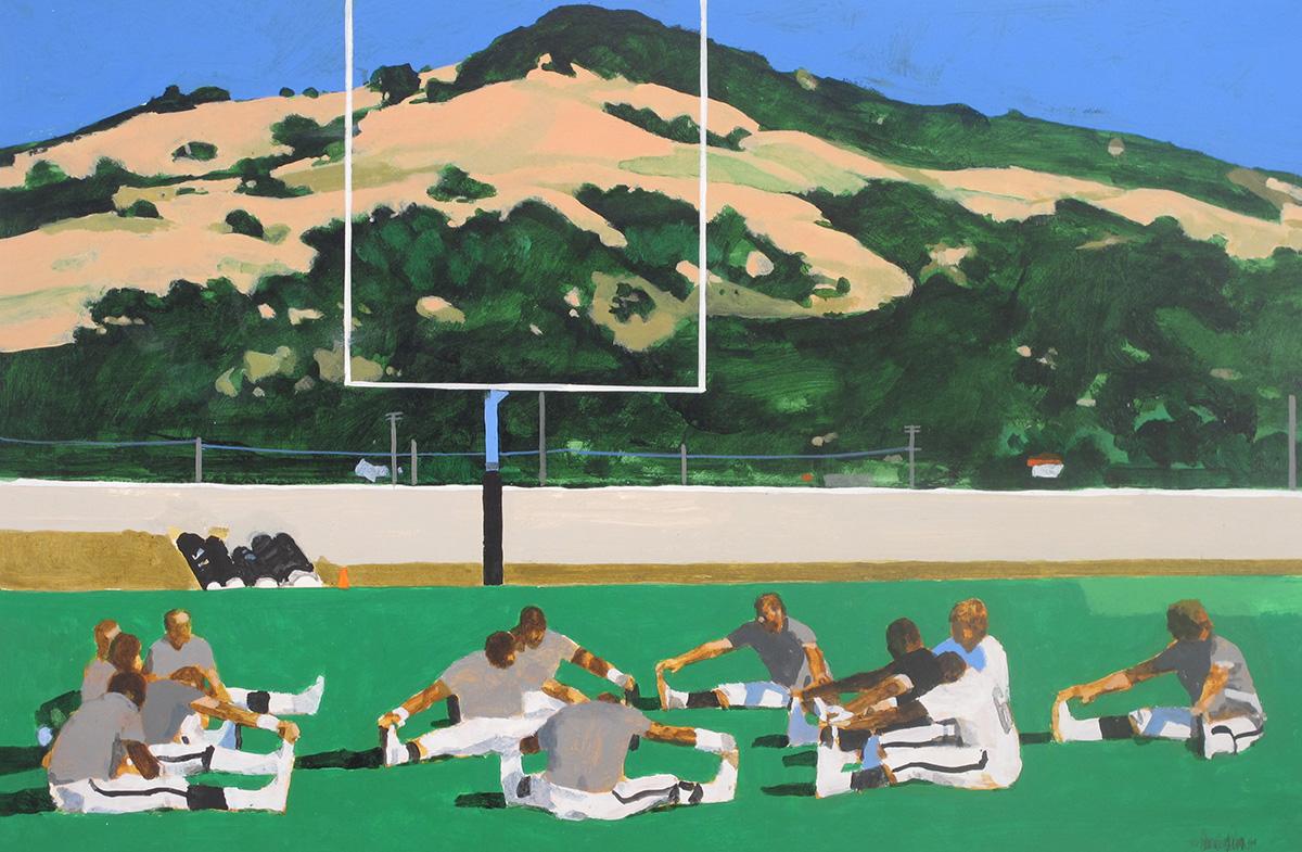 Oakland Raiders Training in Santa Rosa, California