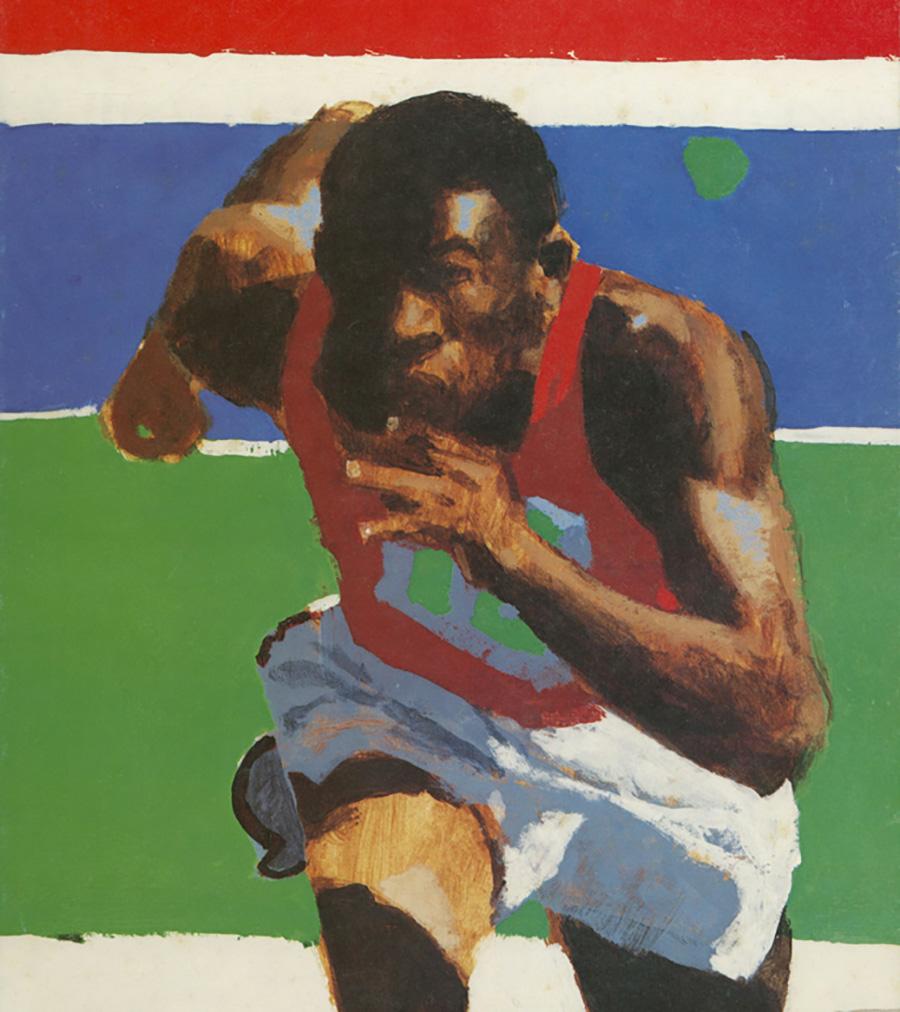Olympic Sprinter, 1980 Summer Games
