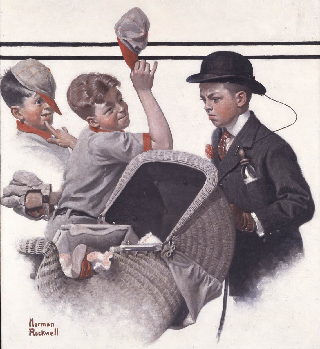 "Anniversary of Norman Rockwell's first ""Saturday Evening Post"" cover"