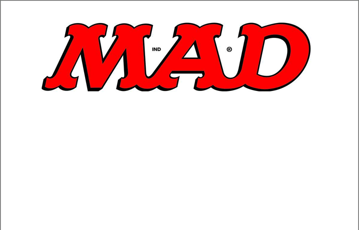 MAD Magazine releases issue with blank cover.