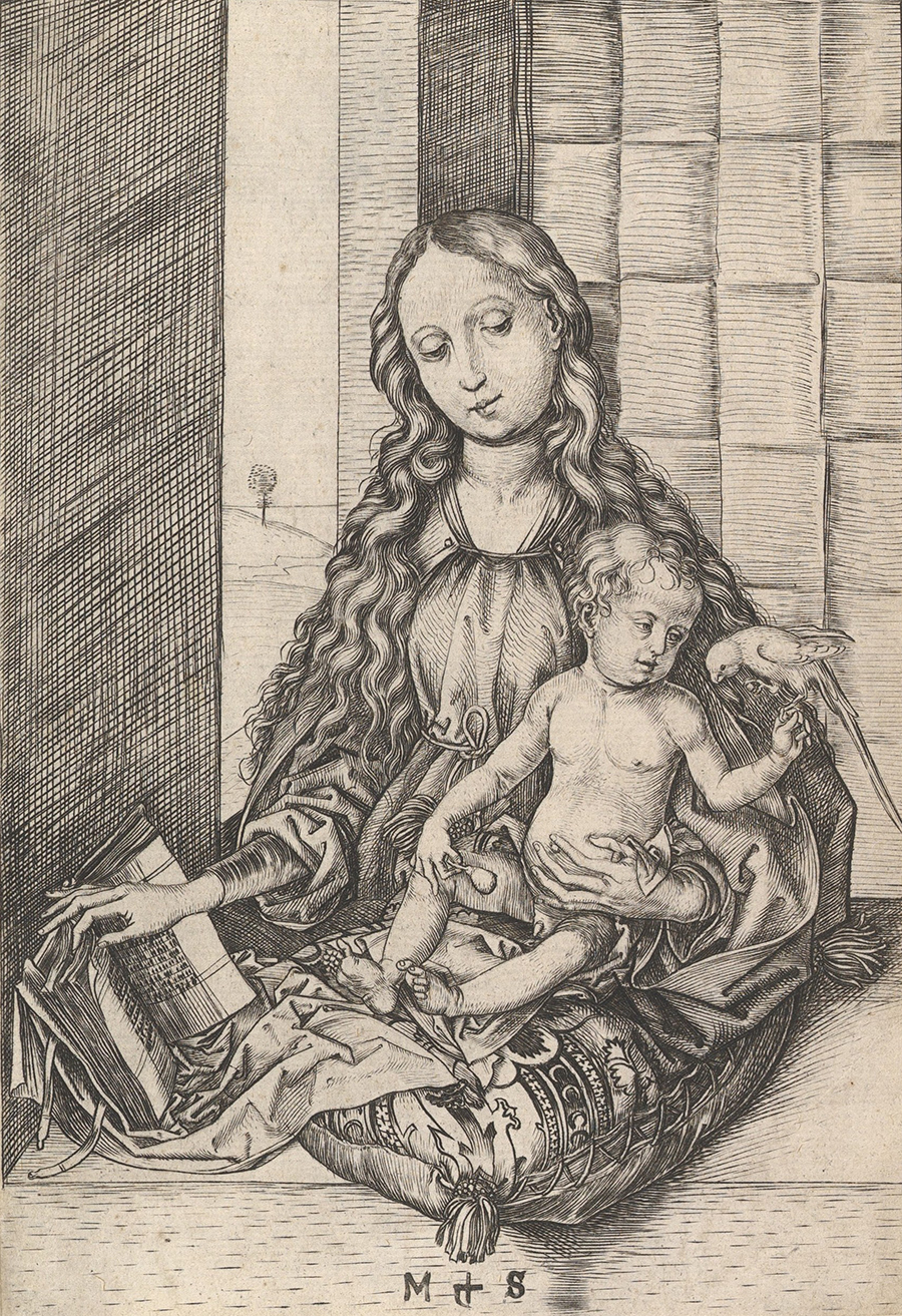 The Madonna and Child with the Parrot