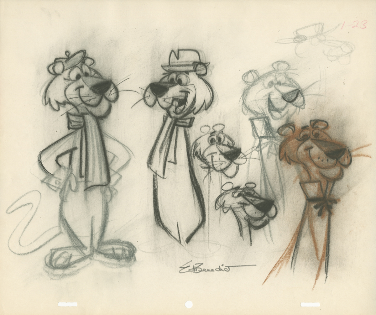Concept art of Snagglepuss