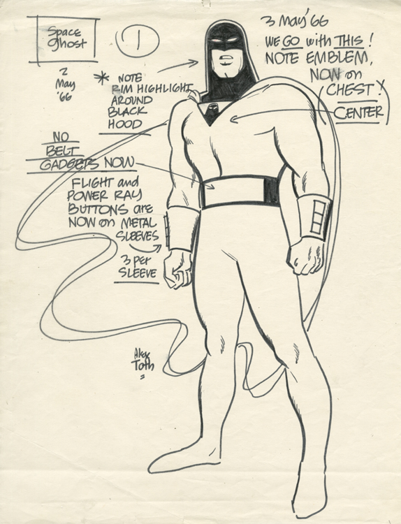 Space Ghost - Specification sketch
