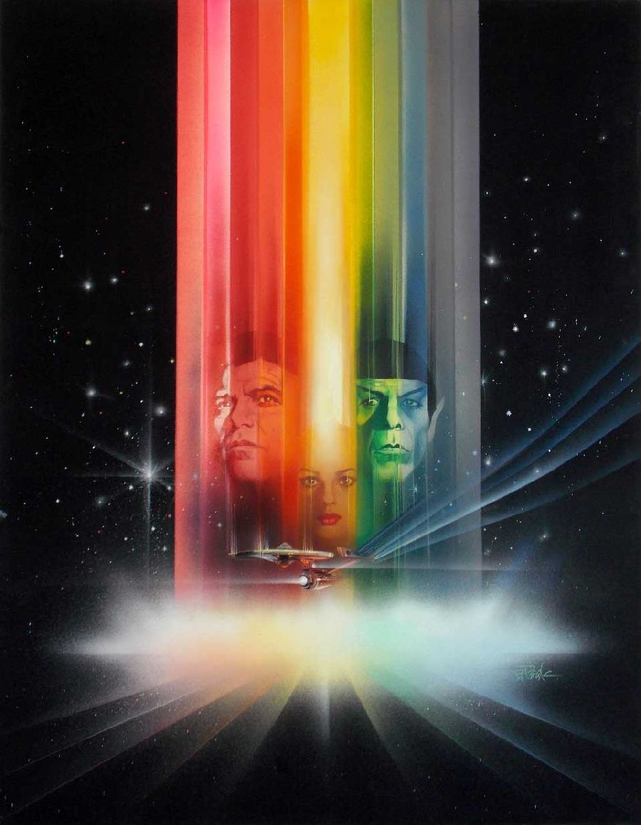 "Film poster art for ""Star Trek: The Motion Picture"""