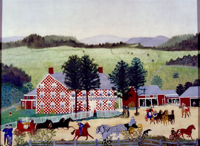 The Old Checkered House, 1853