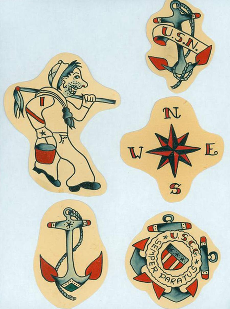 Navy Flash Art