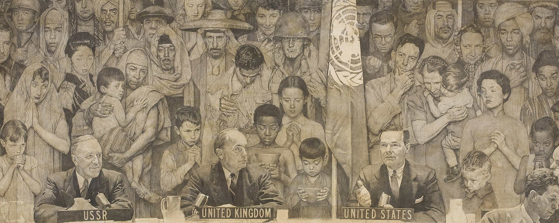 Norman Rockwell - United Nations
