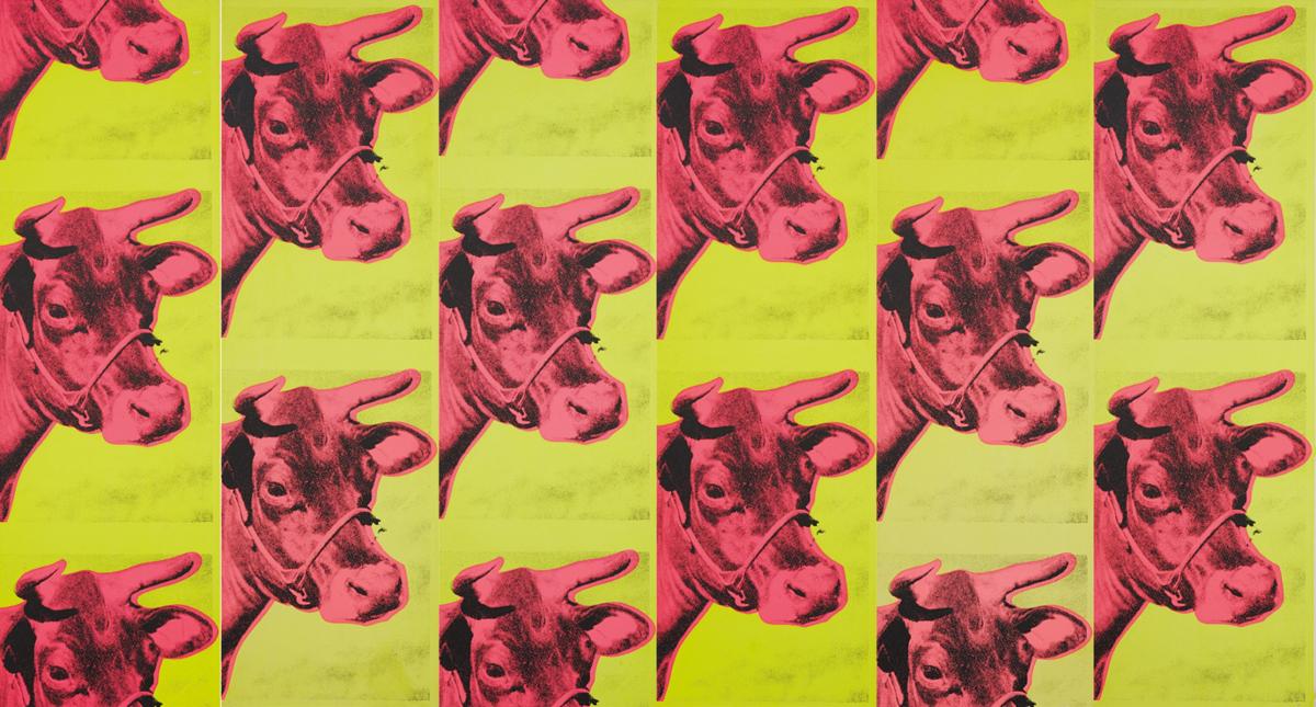 Cow wallpaper, 1966