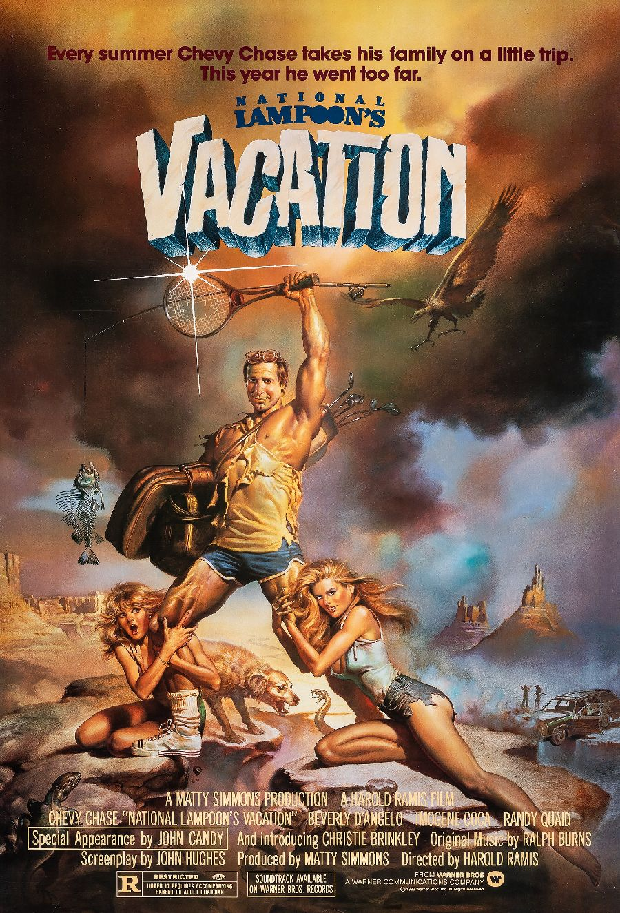 "Film poster for ""National Lampoon's Vacation"""