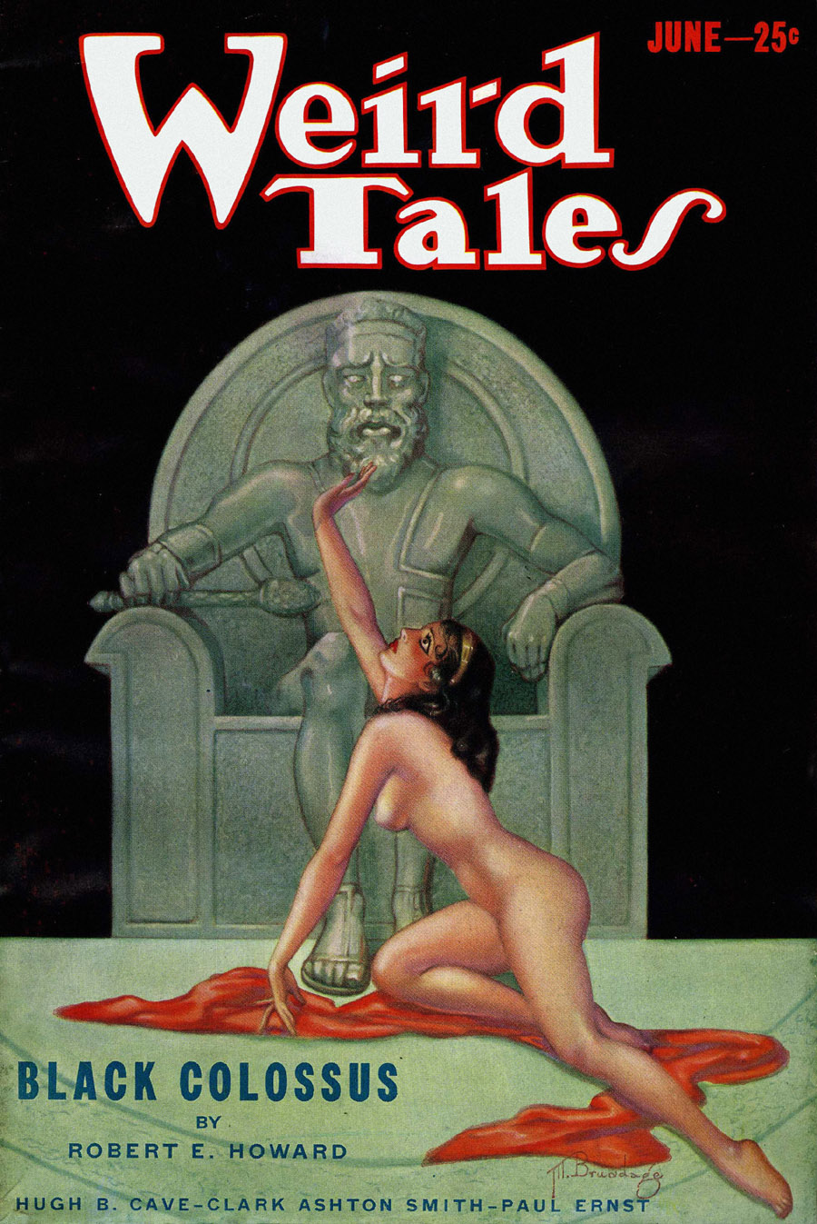"""Cover of """"Weird Tales,"""" June 1933"""
