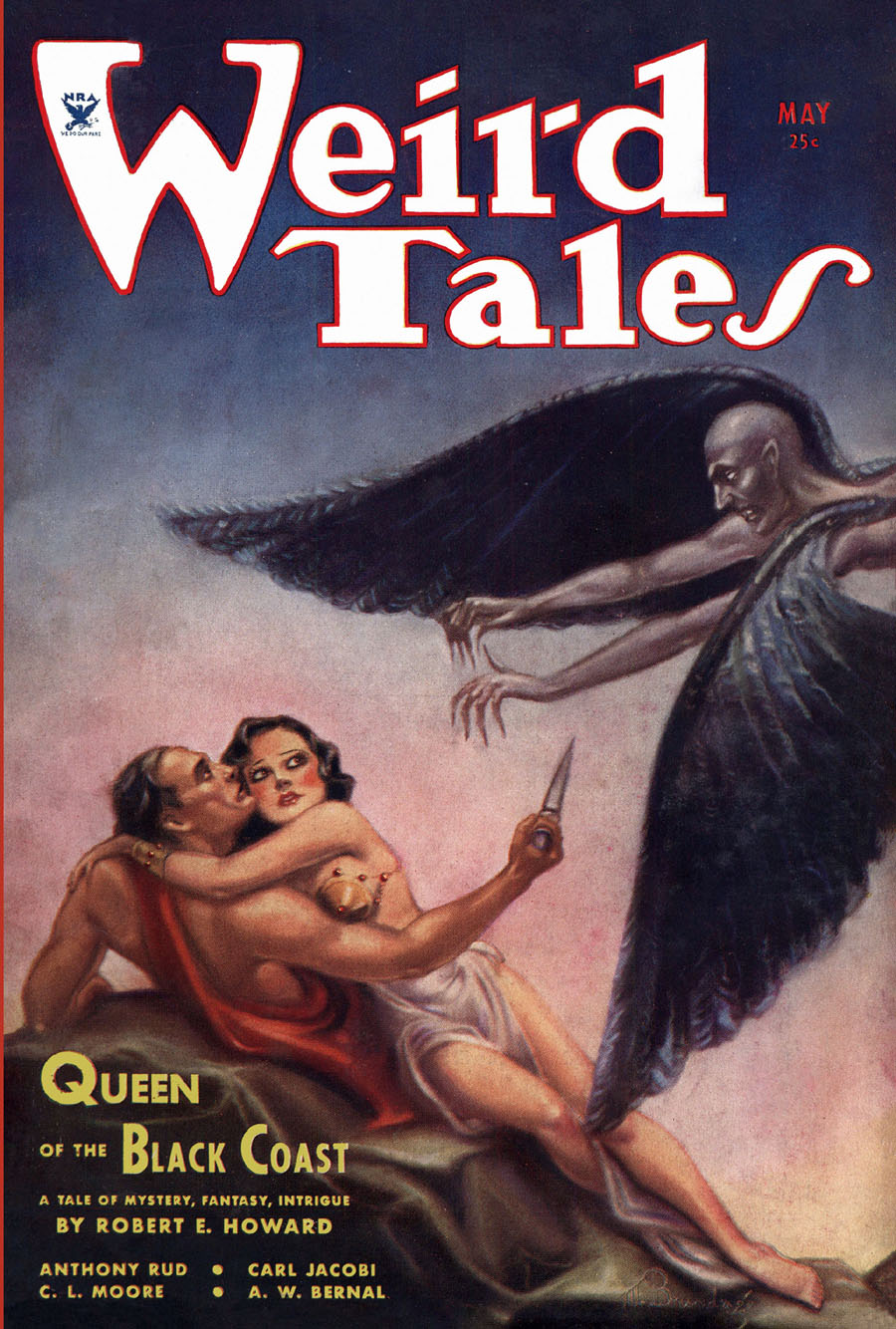 """Cover of """"Weird Tales,"""" May 1934"""