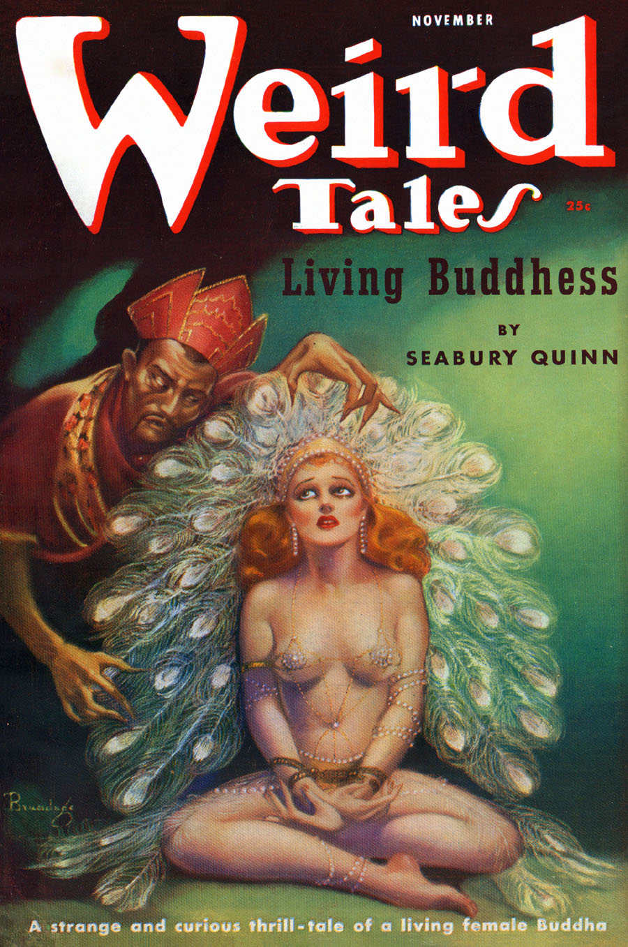 """Cover of """"Weird Tales,"""" November 1937"""