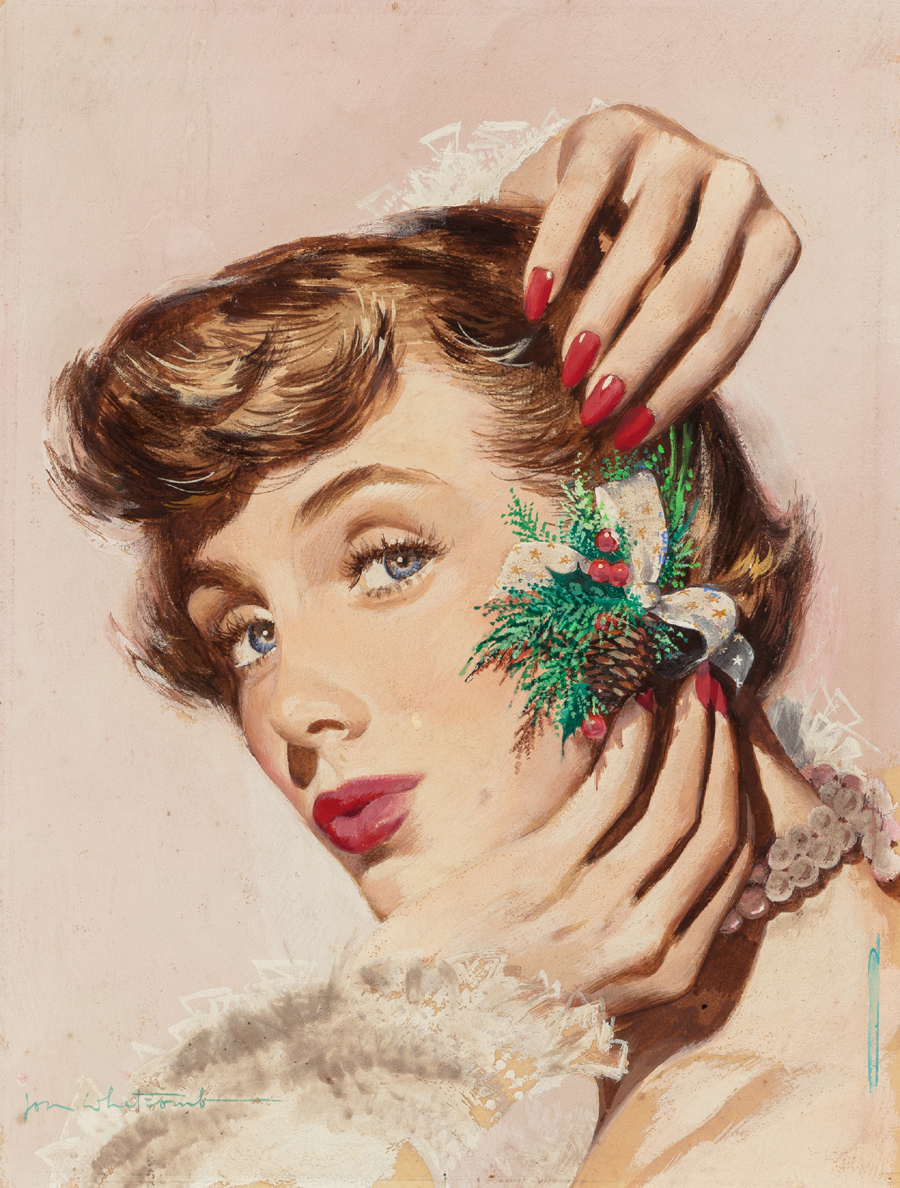 Dressing Her Holiday Hair