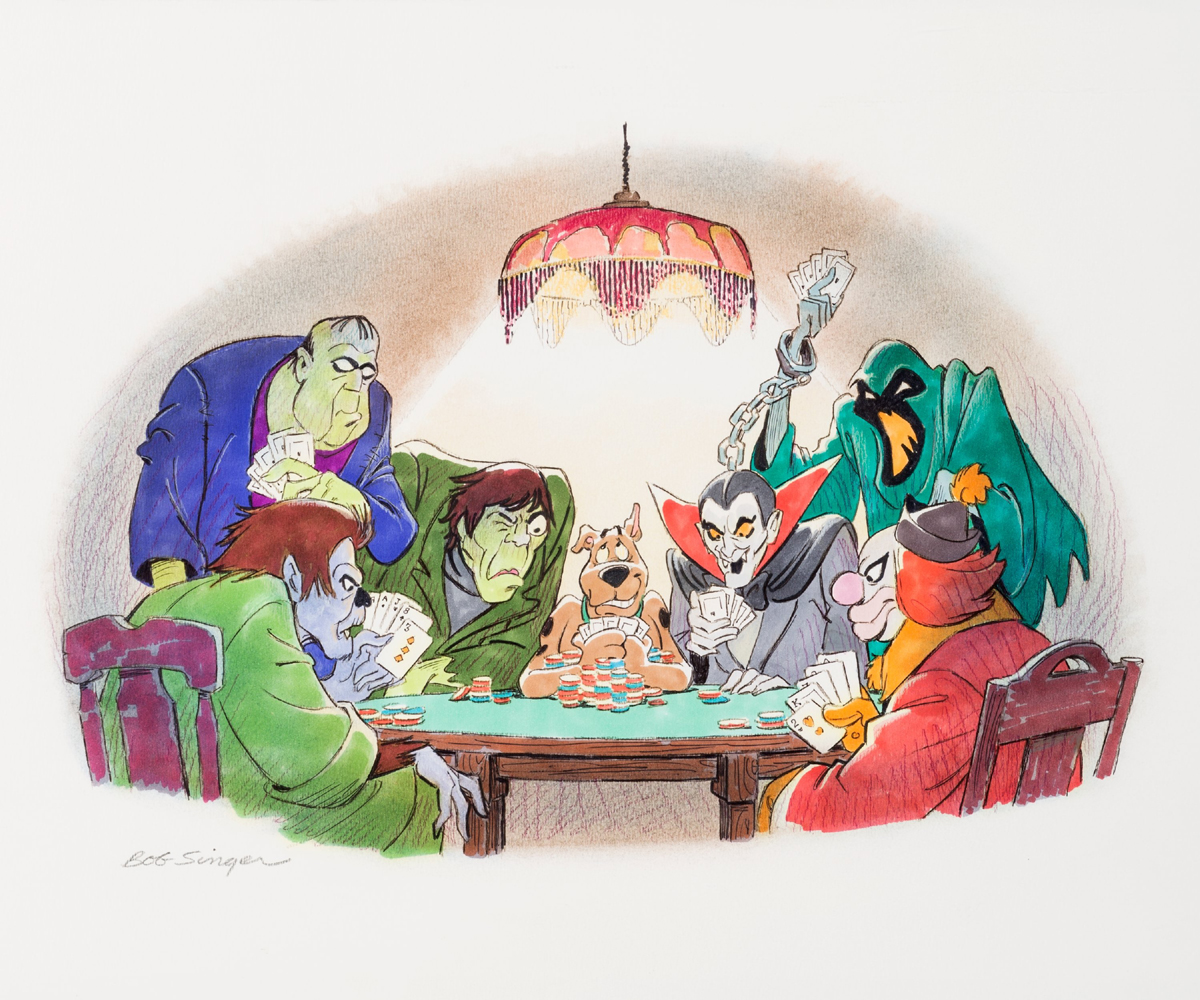 Scooby and Six Monsters