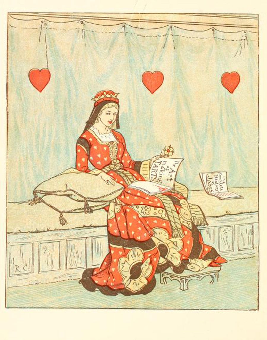 Frontispiece for The Queen of Hearts