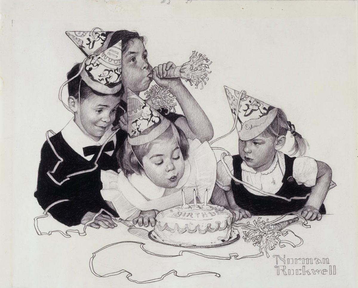 Norman Rockwell's Birthday