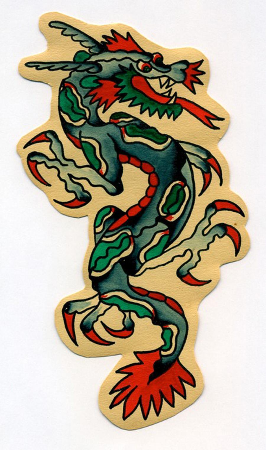 Dragon Flash Art