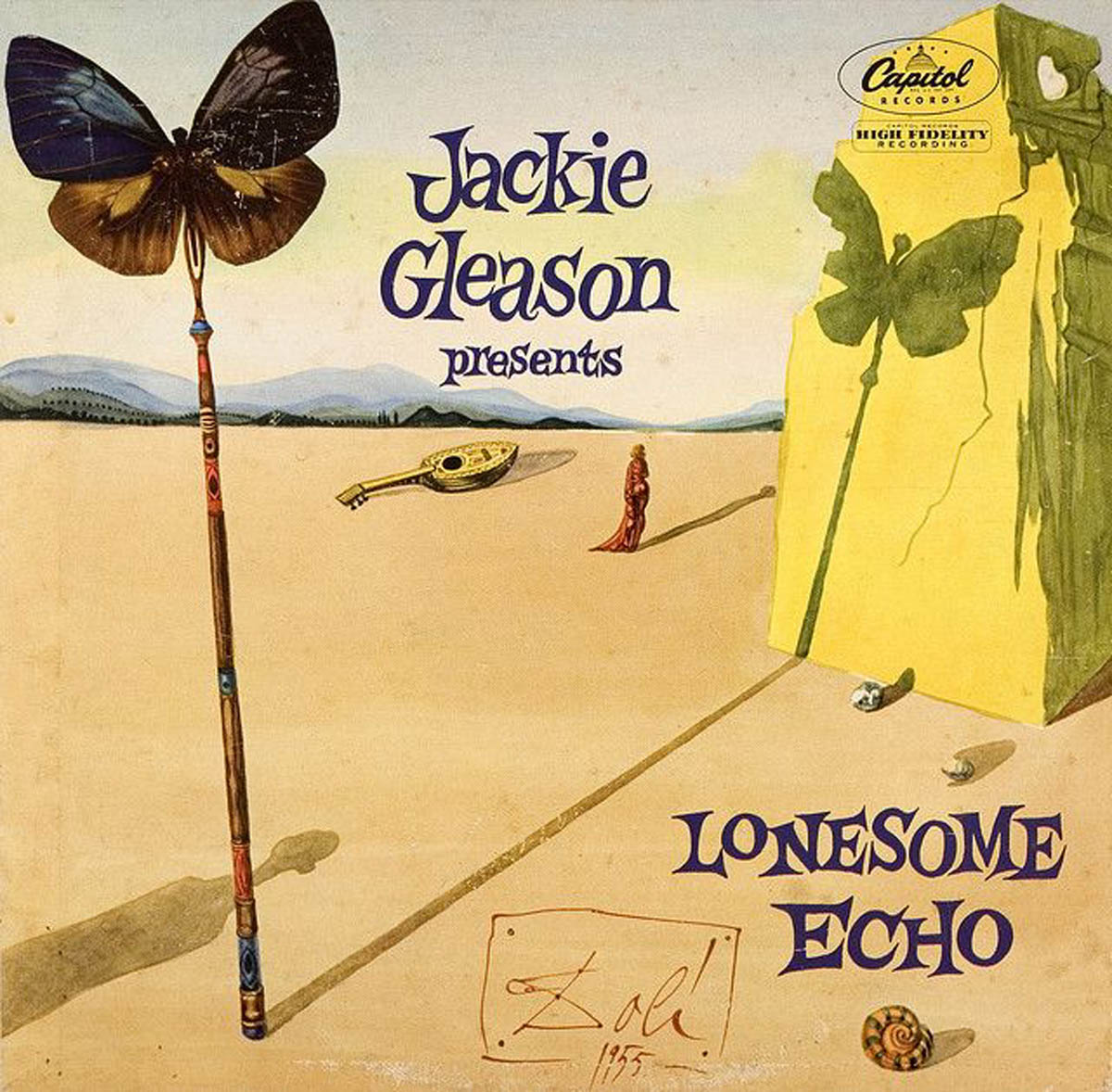 "LP cover for ""Lonesome Echo"""
