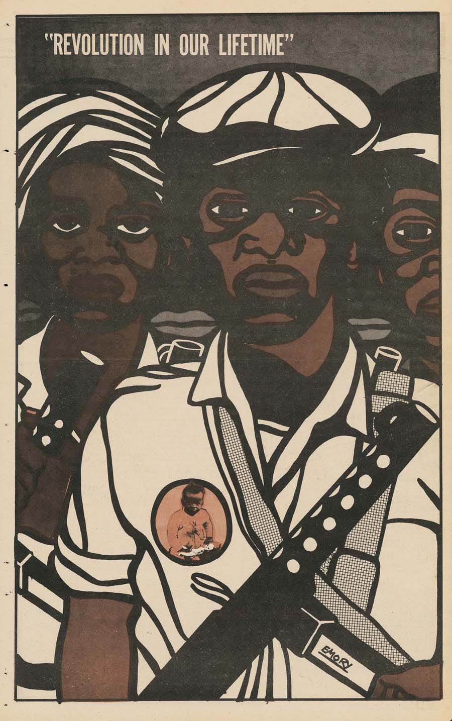 "Illustration for ""The Black Panther,"" November 8, 1969"