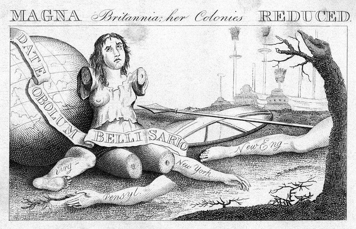 MAGNA Britannia: her Colonies REDUC'D