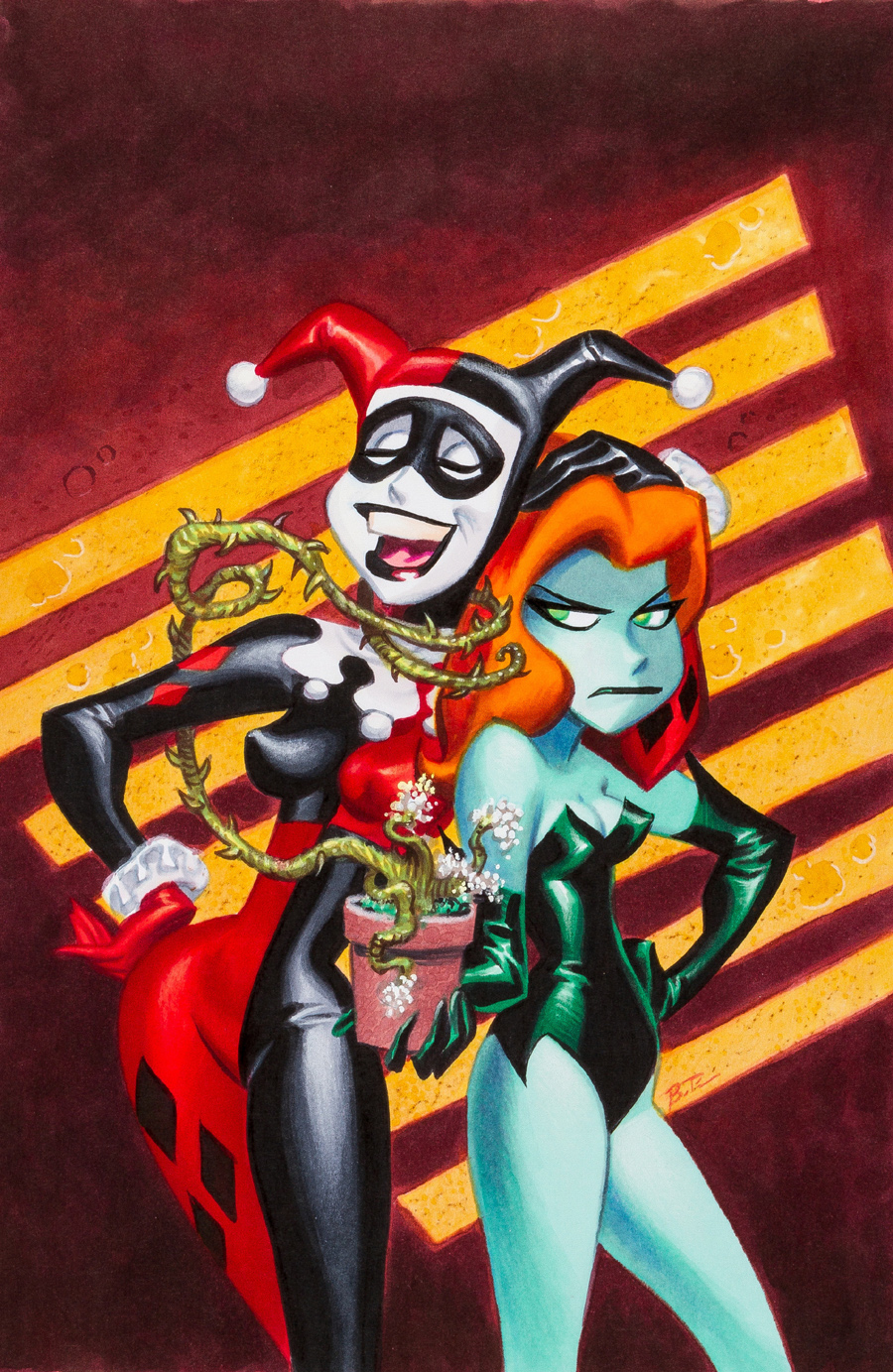 "Cover art for ""Batman: Harley and Ivy"" #1, June 2004"