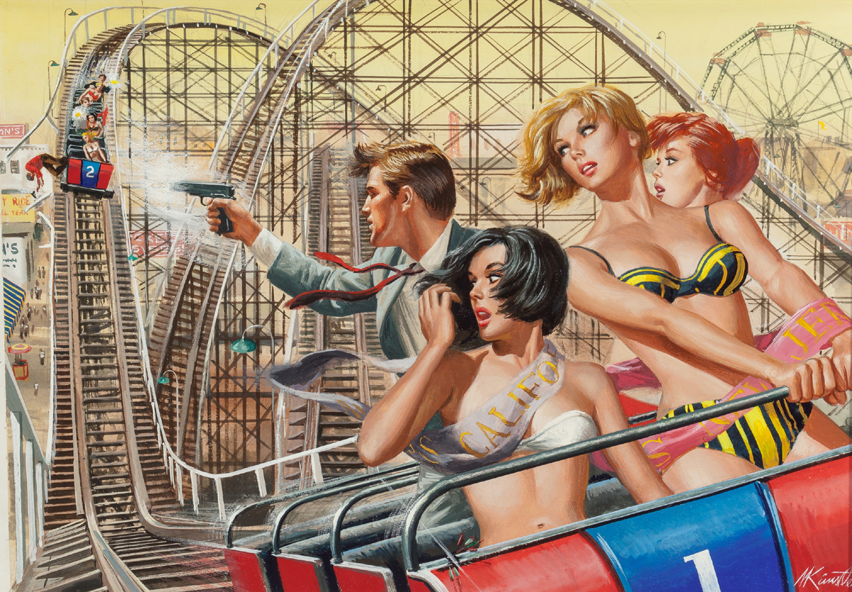 The Night the Mob Took Over Thrill Park