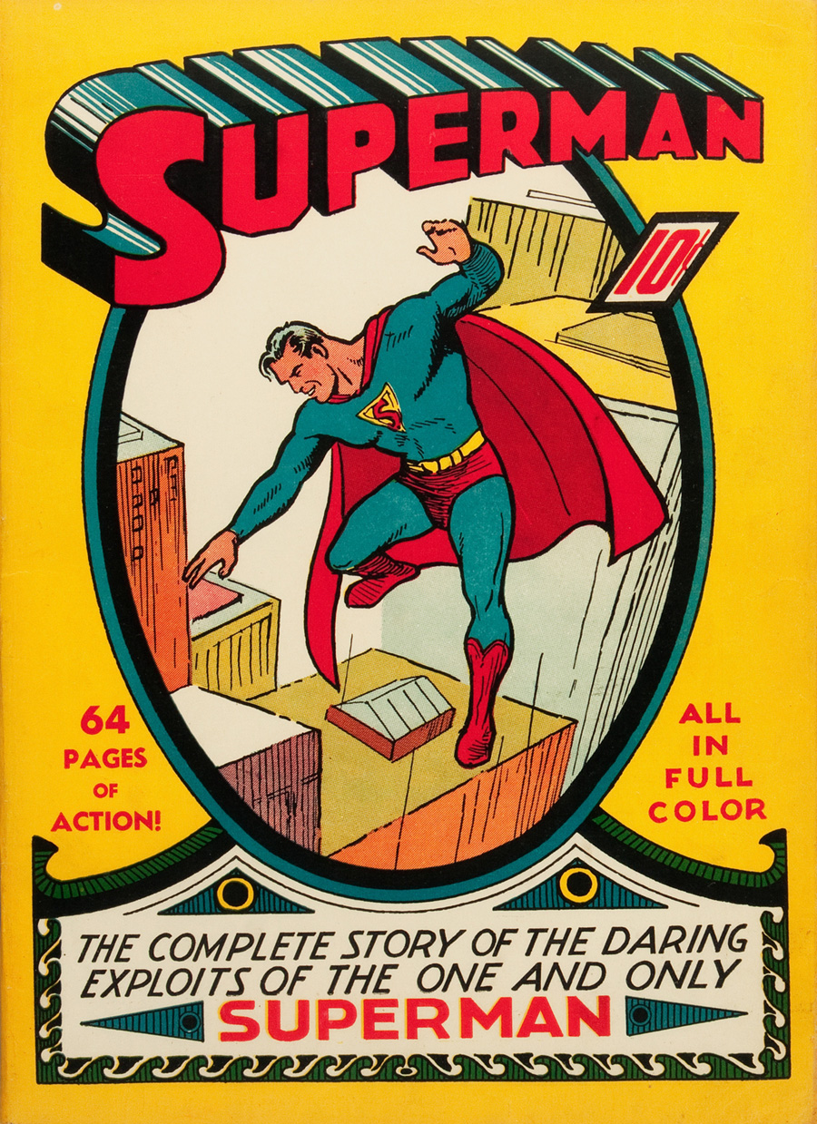 "Cover of ""Superman"" #1, June 1939"