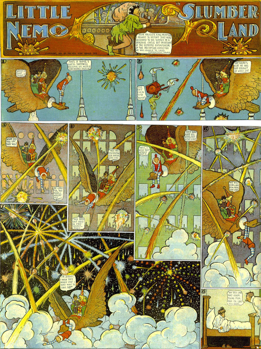 """Little Nemo in Slumberland,"" May 6, 1906"