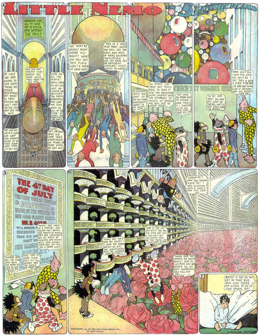 """""""Little Nemo in Slumberland,"""" June 19, 1910"""