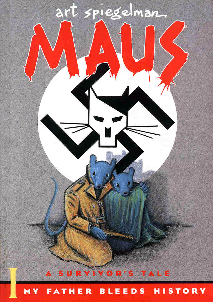 "Cover of ""Maus: A Survivor's Tale,"" September 1, 1986"