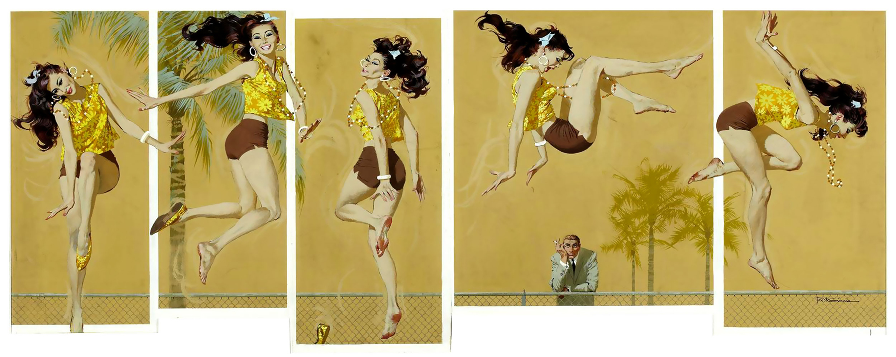 Robert McGinnis - Way in the Middle of the Air