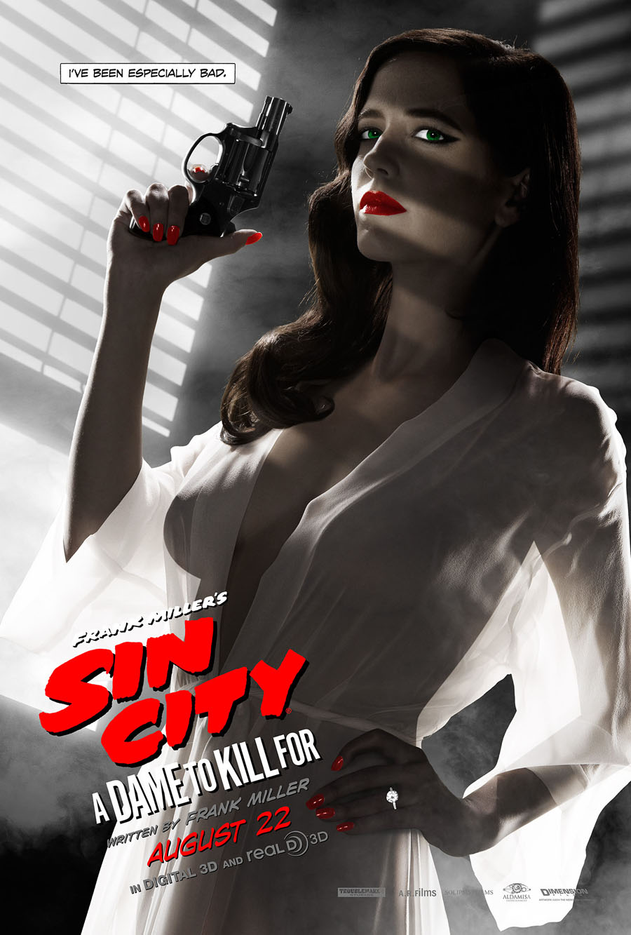 """Sin City: A Dame to Kill For"" film poster"