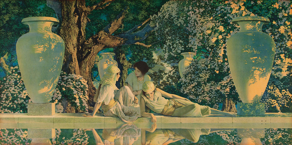 a biography of maxfield parrish Visit amazoncom's maxfield parrish page and shop for all maxfield parrish books check out pictures, bibliography, and biography of maxfield parrish.