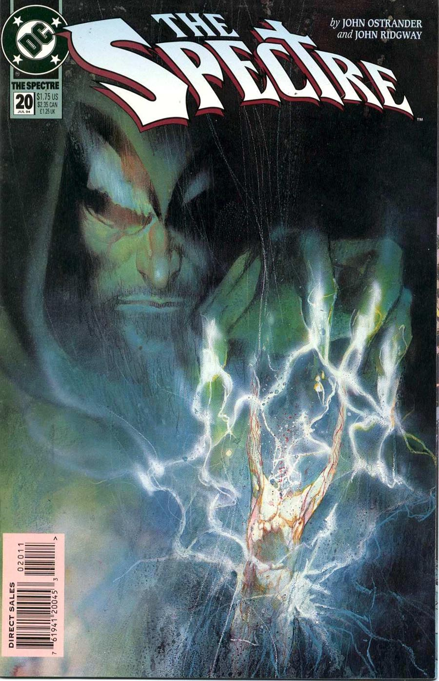 """Cover of """"The Spectre"""" #20, July 1994"""
